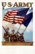 ARMY FLAG POSTER